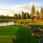 Imagen del hoyo 6 del Old Greenwood del Tahoe Mt. Club. Foto: PGA Tour