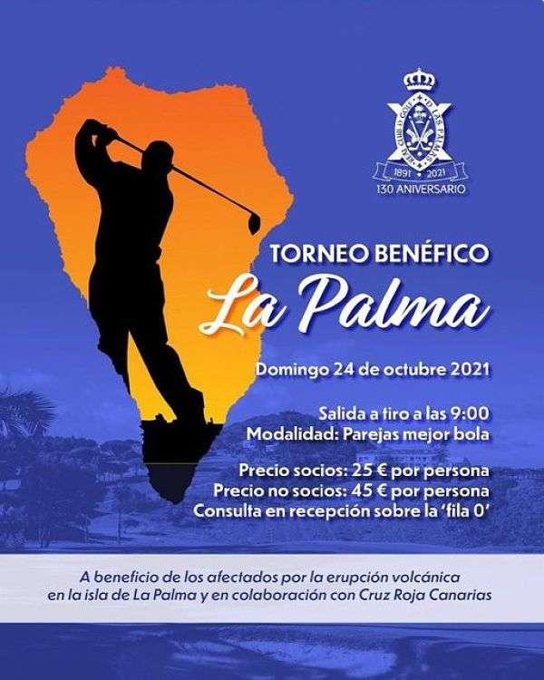 Cartel Torneo Benéfico La Palma